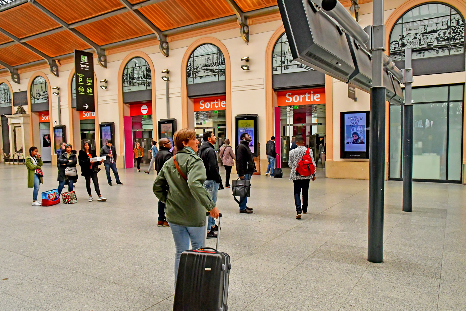 Saint Lazare train station